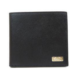 BALLY【バリー】 二つ折り財布(小銭入れなし) レザー メンズ