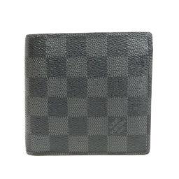 LOUIS VUITTON【ルイ・ヴィトン】 N63336 二つ折り財布(小銭入れあり) ダミエキャンバス メンズ