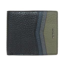 FENDI【フェンディ】 二つ折り財布(小銭入れなし) レザー メンズ