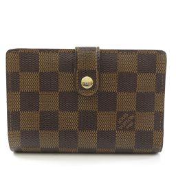 LOUIS VUITTON【ルイ・ヴィトン】 N61664 二つ折り財布(小銭入れあり) ダミエキャンバス ユニセックス