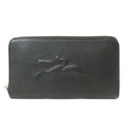 Longchamp【ロンシャン】 長財布(小銭入れあり) レザー レディース