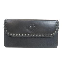 Christian Dior【クリスチャンディオール】 長財布(小銭入れあり) /レザー/レザー レディース
