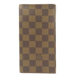 LOUIS VUITTON【ルイ・ヴィトン】 N60825 長財布(小銭入れあり) ダミエキャンバス レディース