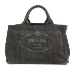 PRADA【プラダ】 B2642B 8090 トートバッグ デニム レディース