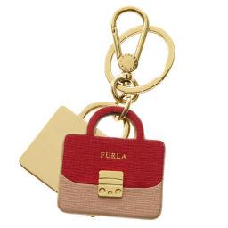 Furla【フルラ】 キーホルダー レザー/金属製/金属製 レディース