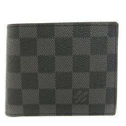LOUIS VUITTON【ルイ・ヴィトン】 N63336 二つ折り財布(小銭入れあり) ダミエキャンバス レディース
