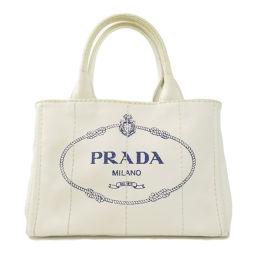 PRADA【プラダ】 1BG439 8090 ハンドバッグ キャンバス レディース