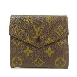 LOUIS VUITTON【ルイ・ヴィトン】 廃盤品 二つ折り財布(小銭入れあり) モノグラムキャンバス レディース
