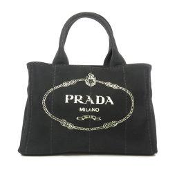 PRADA【プラダ】 1BG439 ハンドバッグ キャンバス レディース