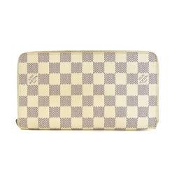 LOUIS VUITTON【ルイ・ヴィトン】 N60012 長財布(小銭入れあり) ダミエキャンバス レディース