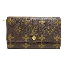 LOUIS VUITTON【ルイ・ヴィトン】 M61735 二つ折り財布(小銭入れあり) モノグラムキャンバス ユニセックス
