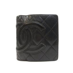 CHANEL【シャネル】 7990 二つ折り財布(小銭入れあり) カーフ レディース