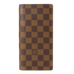 LOUIS VUITTON【ルイ・ヴィトン】 N60017 長財布(小銭入れあり) ダミエキャンバス レディース