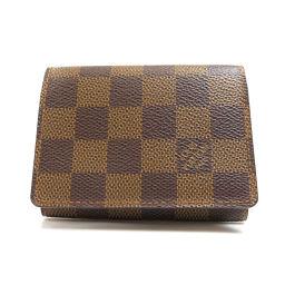 LOUIS VUITTON【ルイ・ヴィトン】 N62920 カードケース ダミエキャンバス ユニセックス