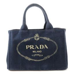 PRADA【プラダ】 トートバッグ キャンバス レディース