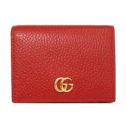 GUCCI【グッチ】 456126 二つ折り財布(小銭入れあり) カーフ レディース