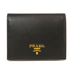 PRADA【プラダ】 二つ折り財布(小銭入れあり) カーフ レディース