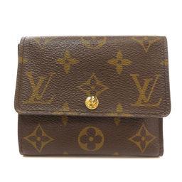 LOUIS VUITTON【ルイ・ヴィトン】 M60402 二つ折り財布(小銭入れあり) モノグラムキャンバス レディース