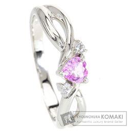 VANDOME【ヴァンドーム】 ピンクサファイヤ/ホワイトサファイヤ リング・指輪 プラチナPT900 レディース