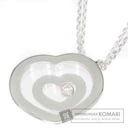 Chopard【ショパール】 ハッピースピリット ダイヤモンド ネックレス K18ホワイトゴールド レディース