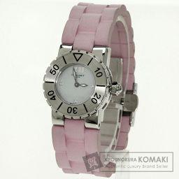 Chaumet【ショーメ】 クラスワン 腕時計 ステンレススチール/ラバー/ラバー レディース