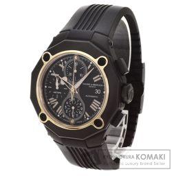 Baume & Mercier【ボーム&メルシェ】 腕時計 /ラバー/ラバーK18PG メンズ