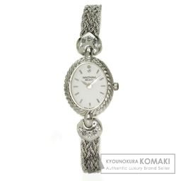 WALTHAM【ウォルサム】 腕時計 K18ホワイトゴールド レディース