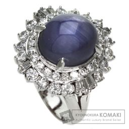 【】 スターサファイア/ダイヤモンド リング・指輪 2925 レディース