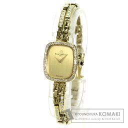 Baume & Mercier【ボーム&メルシェ】 腕時計 K18イエローゴールド/ダイヤモンド レディース