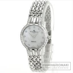 Baume & Mercier【ボーム&メルシェ】 ティファニーダブルネーム 腕時計 K14ホワイトゴールド/K14WG/K14WGダイヤモンド レディース