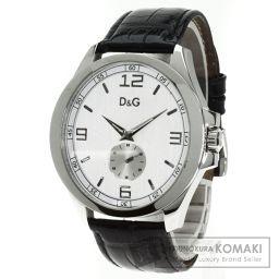 D&G【ディーアンドジー】 腕時計 ステンレススチール/レザー/レザー メンズ