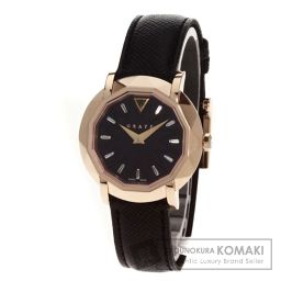 GRAFF【グラフ】 腕時計 K18ピンクゴールド/レザー/レザー レディース