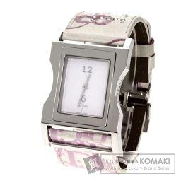 Christian Dior【クリスチャンディオール】 クリス47 腕時計 ステンレススチール/合成皮革/合成皮革 レディース