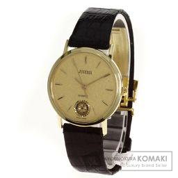 ジーボーラー【G-BALLER】 腕時計 K18イエローゴールド/レザー/レザー メンズ
