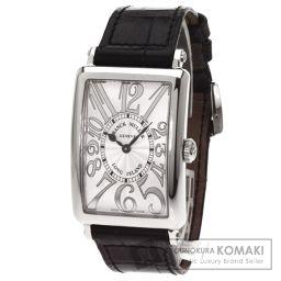 FRANCK MULLER【フランクミュラー】 ロングアイランド 腕時計 ステンレススチール/レザー/レザー レディース