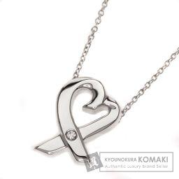 TIFFANY&Co.【ティファニー】 ラビングハート 1Pダイヤモンド ネックレス 2832 レディース