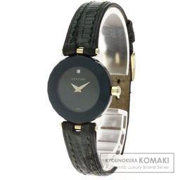 CENTURY【センチュリー】 プライムタイム 1Pダイヤモンド 腕時計 2702/リザード/リザード レディース