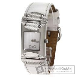 D&G【ディーアンドジー】 腕時計 ステンレススチール/レザー/レザー レディース