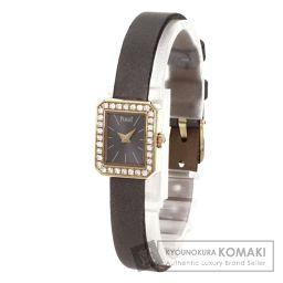 PIAGET【ピアジェ】 ミニプロトコル 腕時計 K18ピンクゴールド/サテン/サテン レディース