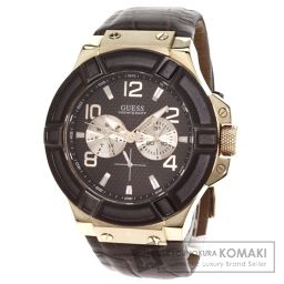 Guess【ゲス】 W0040G3 腕時計 /アリゲーター/アリゲーター メンズ