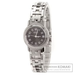 HERMES【エルメス】 クリッパー 腕時計 ステンレス/SS/SS レディース