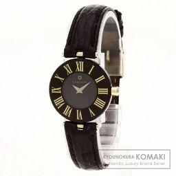 CENTURY【センチュリー】 7790 腕時計 K18ホワイトゴールド/革/革 レディース