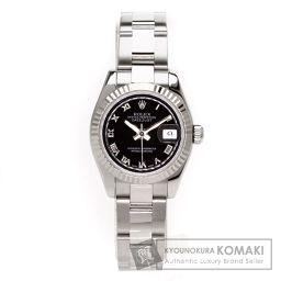 ROLEX【ロレックス】 デイトジャスト 腕時計 ステンレス レディース