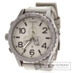 NIXON【ニクソン】 THE51-30 腕時計 ステンレス/革/革 メンズ