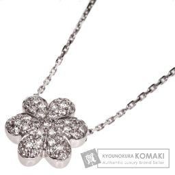 MIKIMOTO【ミキモト】 ダイヤモンド ネックレス K18ホワイトゴールド レディース