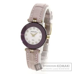 CENTURY【センチュリー】 プライムタイム 腕時計 K18イエローゴールド/アリゲーター/アリゲーター レディース