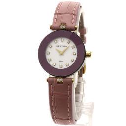 CENTURY【センチュリー】 Ref648.92.S.12.21.CQM 腕時計 K18イエローゴールド/革/革 レディース