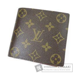 LOUIS VUITTON【ルイ・ヴィトン】 ポルトフォイユ・マルコ M61675 二つ折り財布(小銭入れあり) モノグラムキャンバス レディース