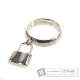 TIFFANY&Co.【ティファニー】 カデナデザイン リング・指輪 シルバー レディース