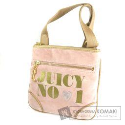 JUICY COUTURE【ジューシークチュール】 ロゴデザイン ショルダーバッグ  レディース